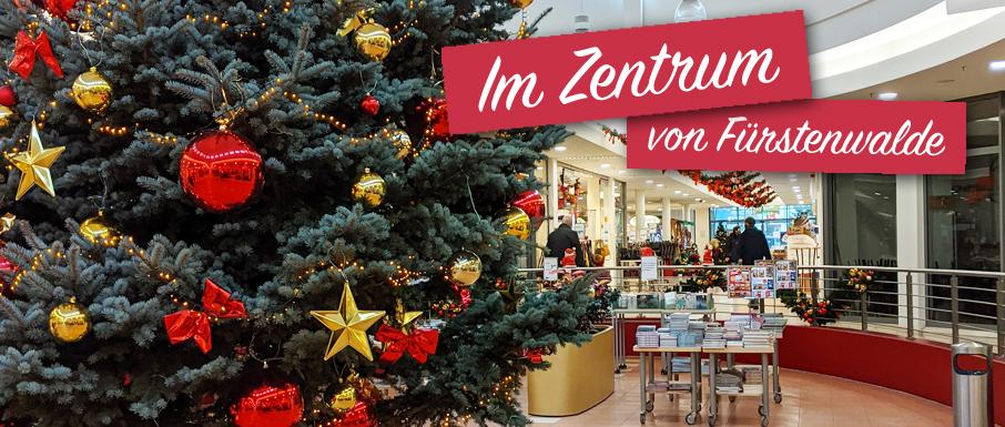 Weihnachten 2020 in der Fürstengalerie in Fürstenwalde/Spree