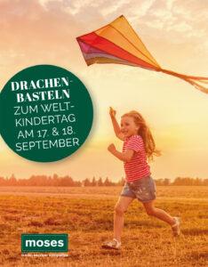 Für Kinder: Moses Fürstenwalde läd am Weltkindertag zum Drachenbasteln ein